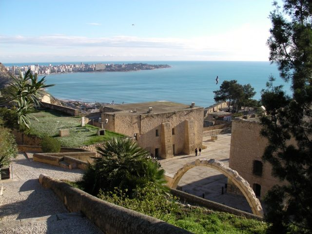Castillo de Santa Barbara, Alicante, Spain