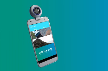 Dunkam 360 degree camera