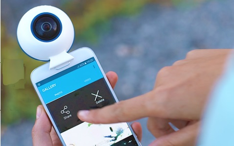 Dunkam 360 camera for smartphone