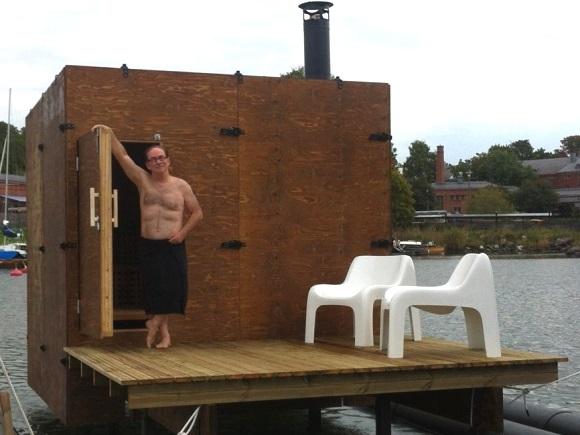 sauna etiquette in Finland
