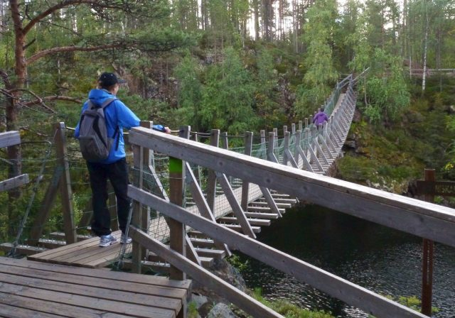 Karhunkierros trail in Oulanka, Kuusamo (from Lapland travel guidebook)