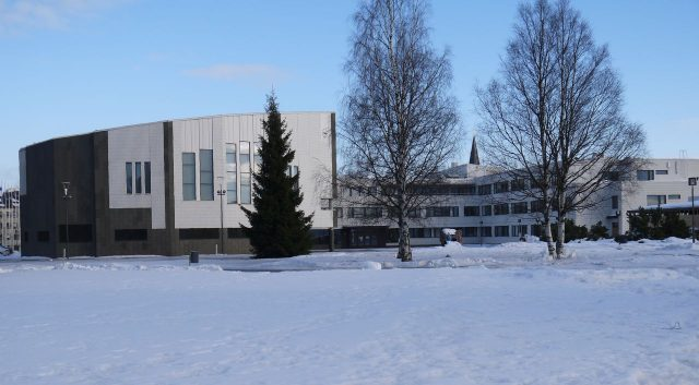Rovaniemi Library from travel guidebook Lapland