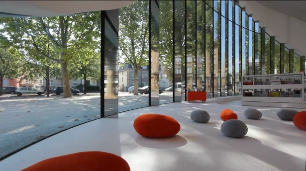 Thionville library in France