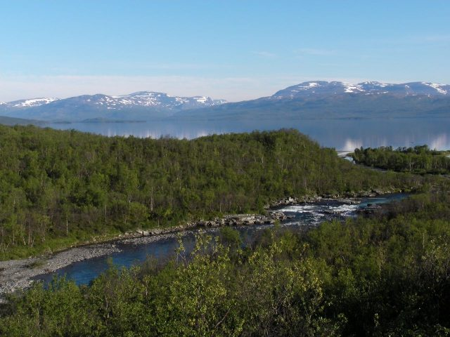 Abisko, Sweden. Lapland, north Europe