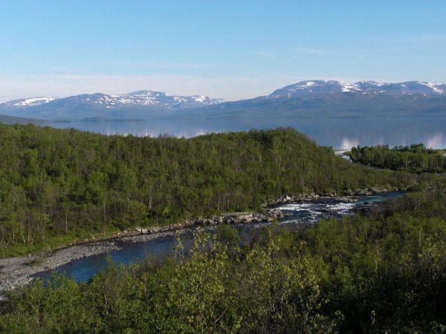 Abisko, Sweden. Lapland, north Europe