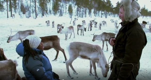 BBC Travel Show, Finland Special in Inari, Lapland