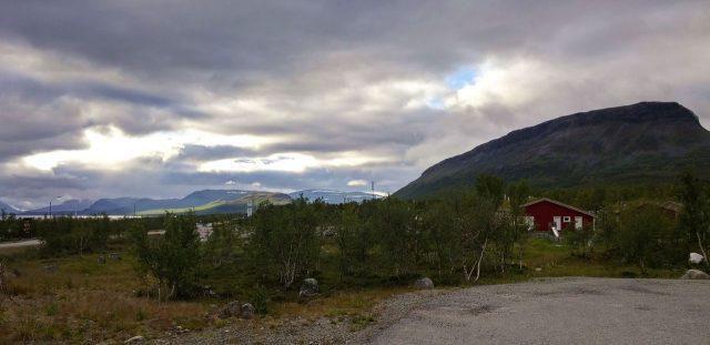 Kilpisjarvi, Finland. Saana fell in Lapland, Scandinavia.