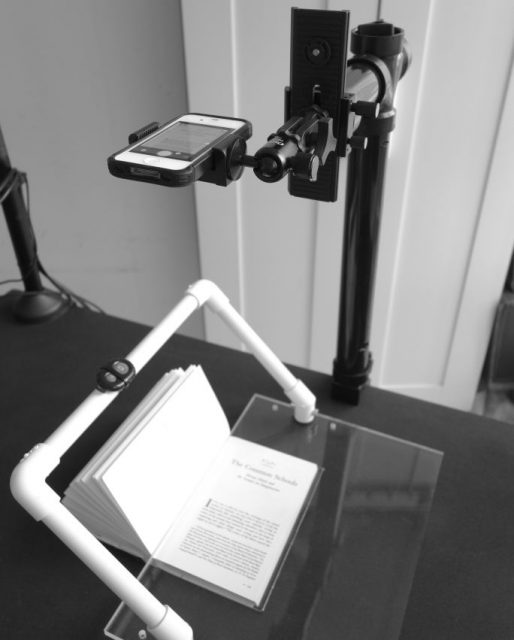 Tiflic book scanner by Mohib