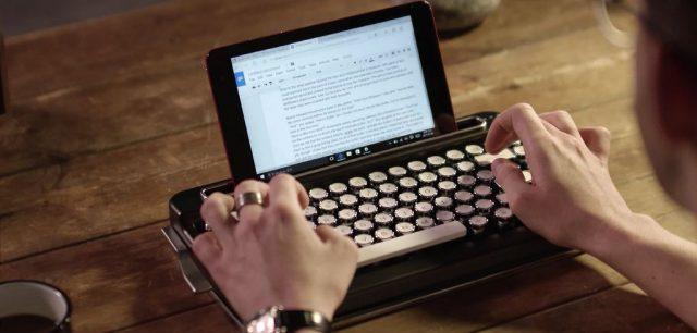 penna, retro bluetooth keyboard