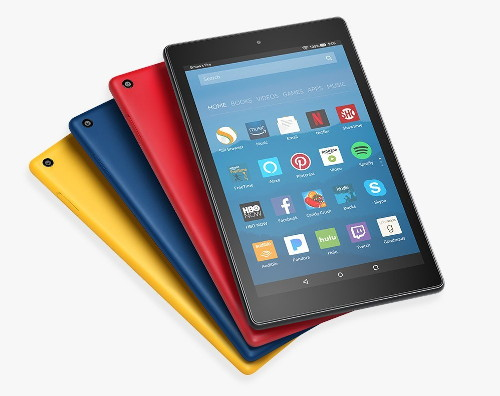 Amazon Fire HD 8 tablet, 2017 model