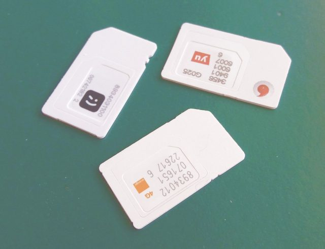 prepaid SIM cards for internet access