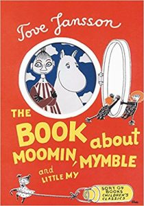 book cover: moomin, mymble, my