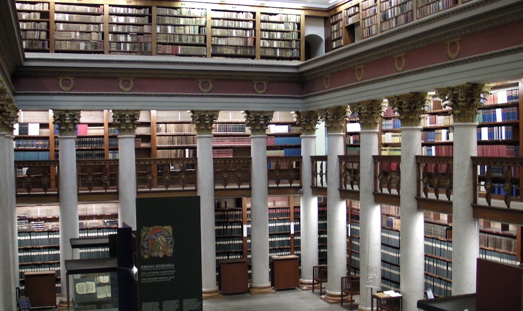 Finland's National Library in Helsinki
