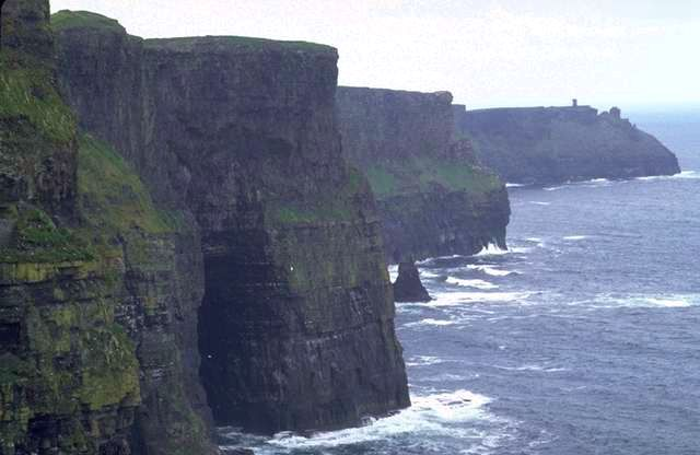 coastal cliffs in Ireland