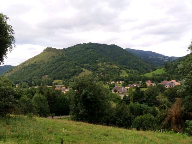 Luzenac village seen from Pouech