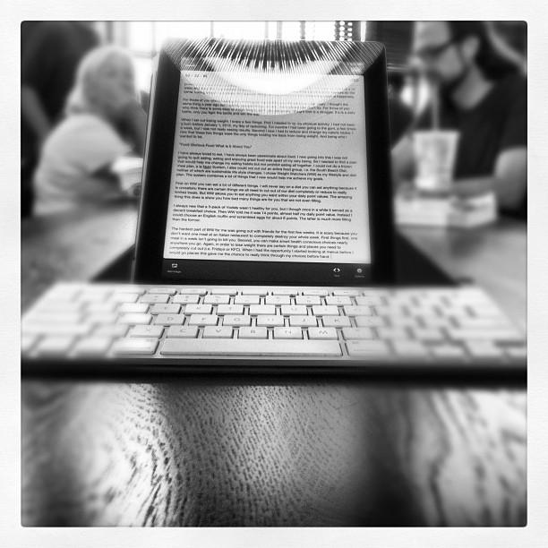writing tools, photo by Reuben Ingber (Flickr)