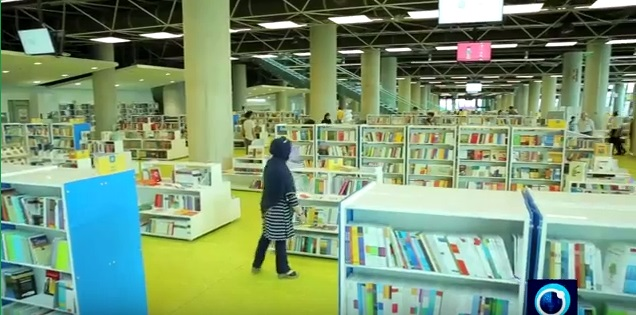 World's largest bookstore in Tehran, Iran: Book Garden