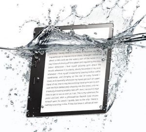 Amazon KIndle Oasis 7-inch model is waterproof
