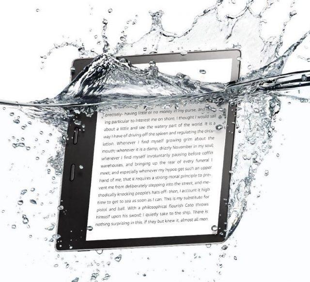 Amazon KIndle Oasis 7-inch model is waterproof