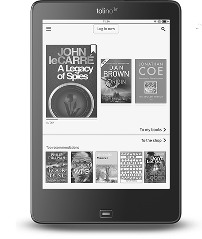 Tolino Epos ebook shopping
