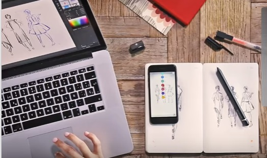 Moleskine smart writing set connects to Windows 10 PC