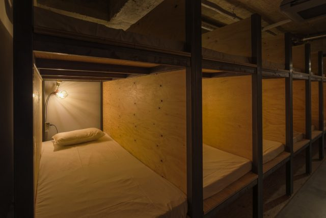 Book and Bed hostel in Tokyo, sleeping pod