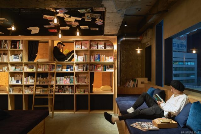Book and Bed hostel in Tokyo, Japan