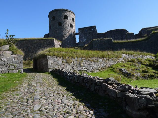 Bohus Fortress, Gothenburg, Kungälv, Sweden.
