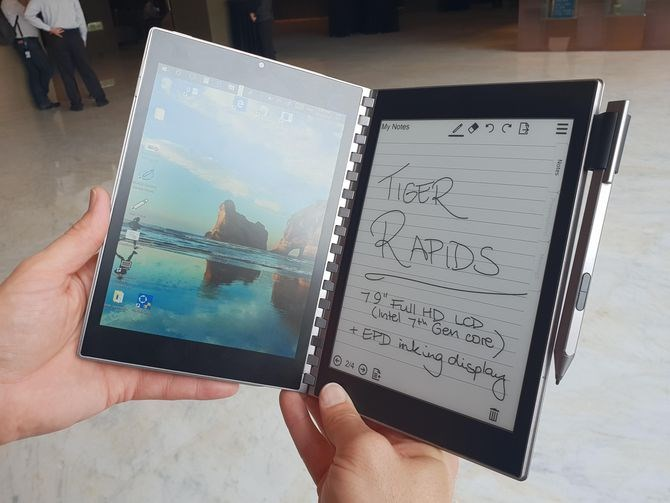 Intel Tiger Rapids tablet/ereader