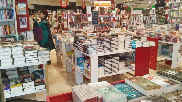 bookstore inside department store