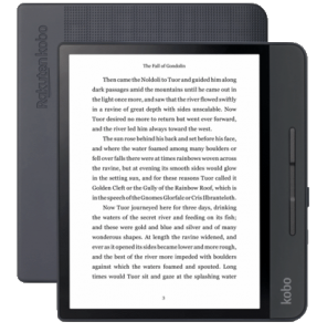 Kobo Forma ereader has 8-inch plastic E ink screen