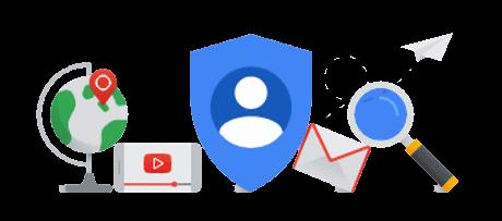 Google services symbols