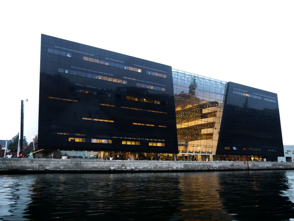 Royal library in Copenhagen, Denmark