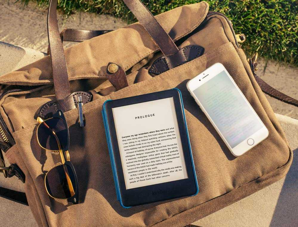 Amazon KIndle basic 2019 model in sunshine