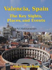 cover image for travel guidebook Valencia, Spain