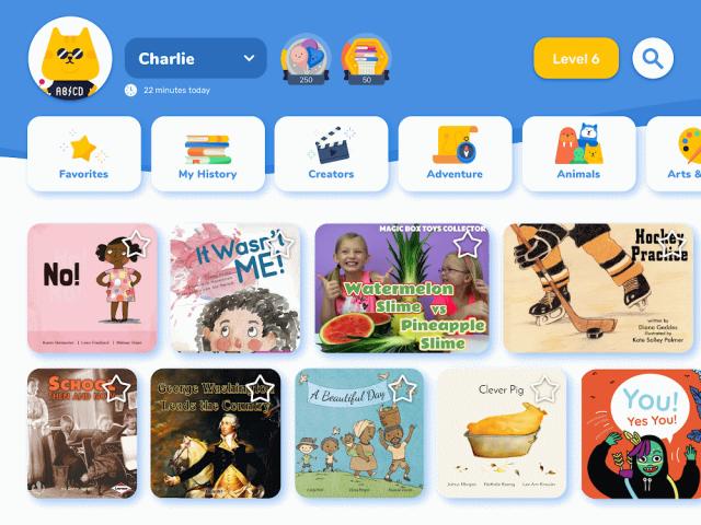 Rivet mobile reading app by Google