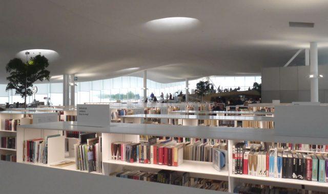 Oodi library in Helsinki, Finland