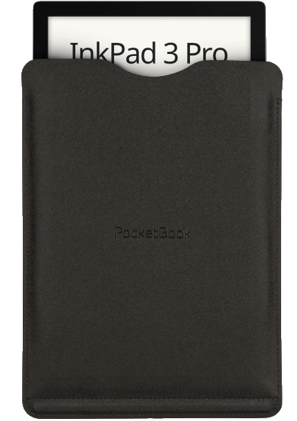 pocketbook inkpad 3 pro e-reader in a case / sleeve