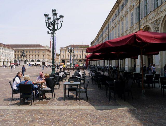 piazza san carlo, torino, italia