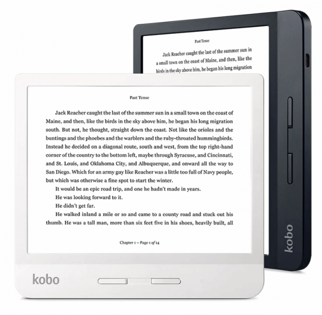 Kobo Libra H2O e-reader 7 inches screen