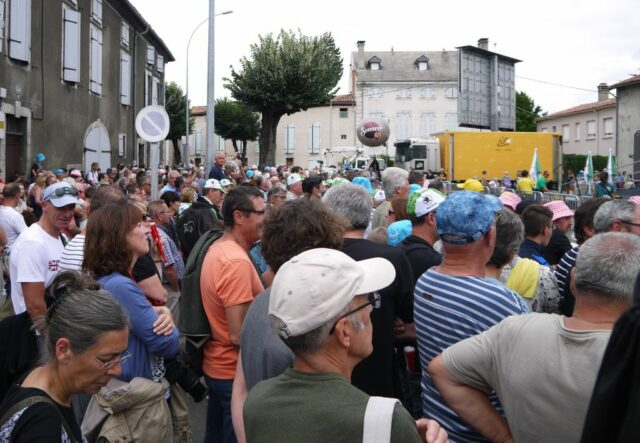 St Girons, France, a massively popular event in July that lasts 3 weeks around France