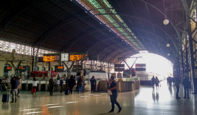 train station in Valencia, Spain. photo from Klaava travel guide