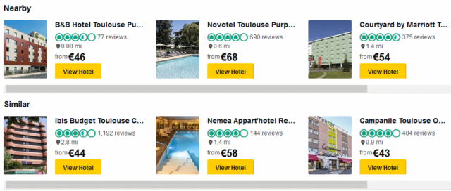 tripadvisor hotel listing