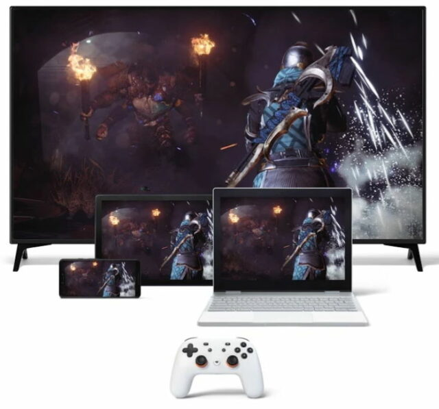 google stadia cloud game service press photo