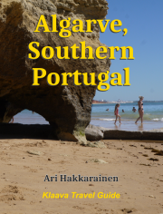 travel guidebook cover image: Algarve Portugal