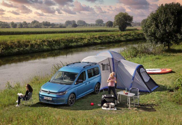 volkswagen caddy california, mini campervan