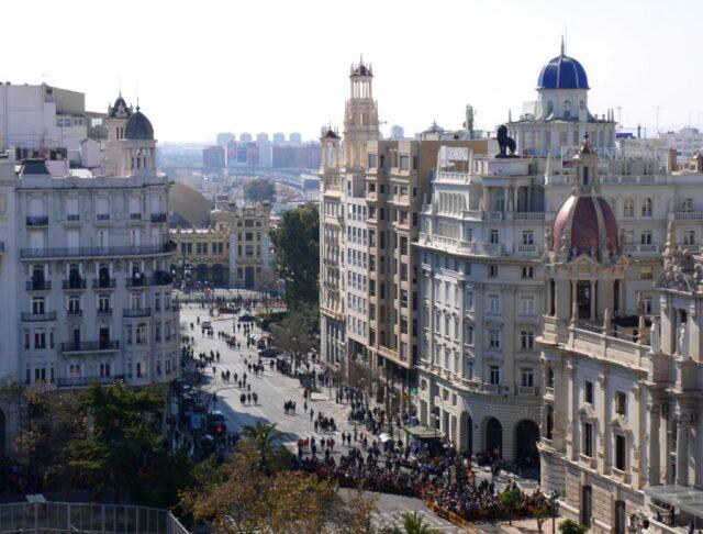 plaza de ayuntamiento, valencia