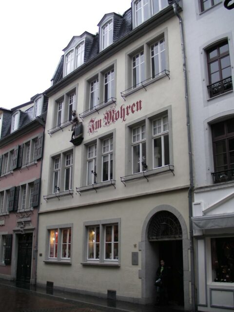 the first home ludwig van beethoven in Bonn, Germany