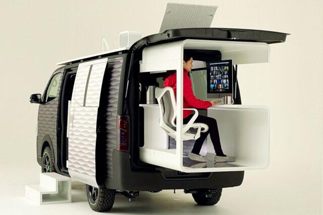 nissan nv350 camper van concept
