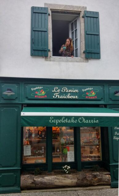 esplette in the french basque region